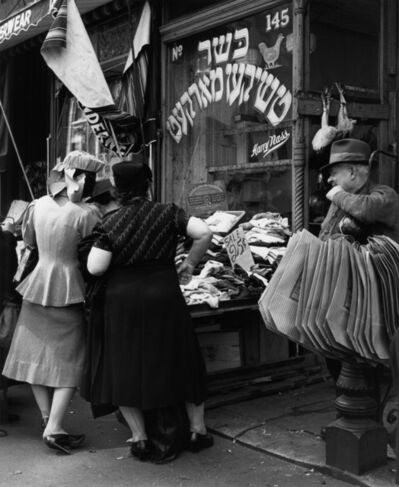 Andreas Feininger, 'Jewish Shop on the Lower East Side, Manhattan', 1940