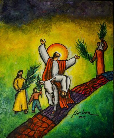 Francisco Borboa, 'Triumph Entry into Jerusalem 耶穌榮進聖京'