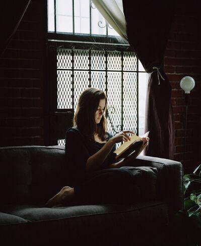 Carrie Schneider, 'Aura reading Maarit Verronen (Pimeästä Maasta, 1995) from the series Reading Women (2012–2014)', 2014