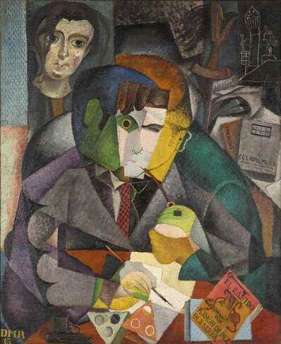 Diego Rivera, 'Retrato de Ramón Gómez de la Serna', 1915