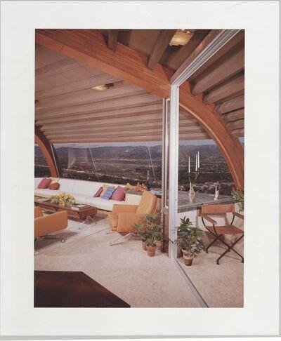 Julius Shulman, 'Malin Residence, Chemosphere House. Hollywood Hills, Ca.', 1961