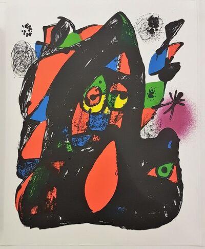 Joan Miró, 'Lithographie Originale (Cover)', 1981