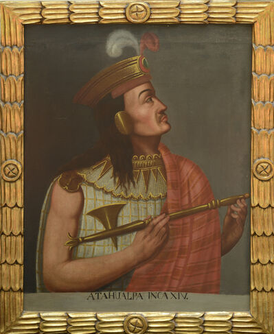 Unknown Artist, 'Portrait of Atahualpa, Inca XIV', 19th century