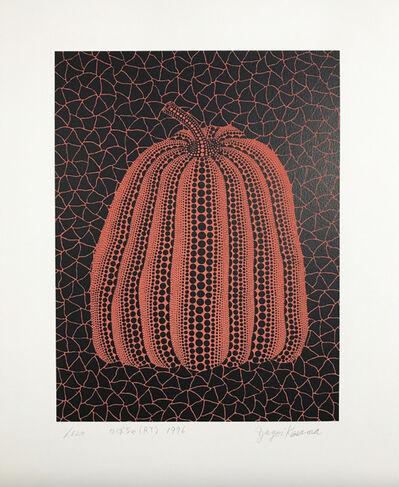 Yayoi Kusama, 'Pumpkin (RT)', 1996