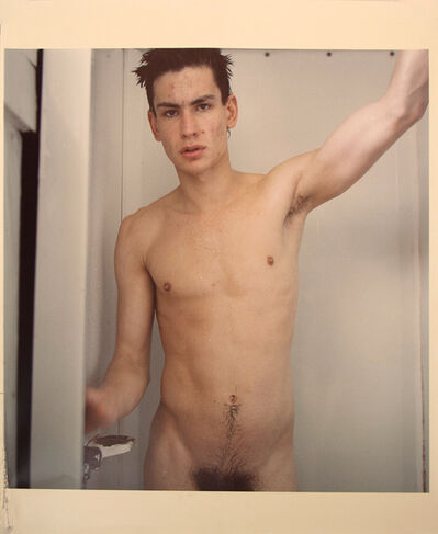 Mark Morrisroe, 'Untitled (Self Portrait Standing in the Shower)', 1981