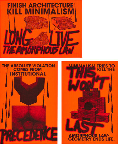 Sterling Ruby, 'Anti-Print Poster', 2007