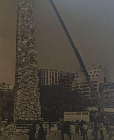 Marta Minujin, 'Obelisco de pan dulce', 1979