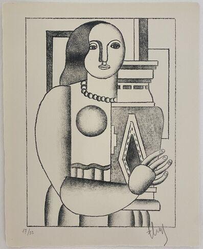Fernand Léger, 'Femme tenant un Vase', 1928