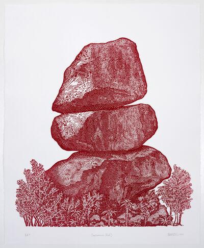 Dan Halter, 'Domboremari (Red)', 2016