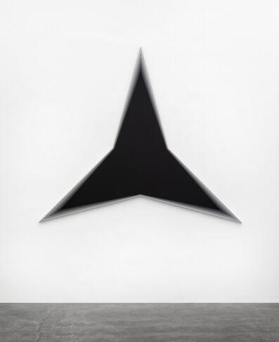 Philippe Decrauzat, 'Black Should Bleed to Edge (Black)', 2012
