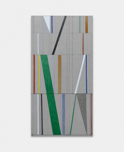 Julio Villani, 'éblouissement des lignes', 2018