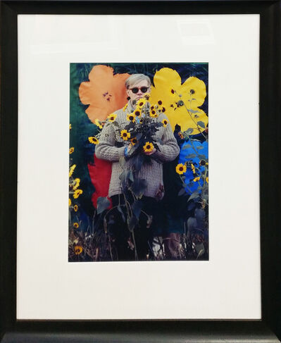 William John Kennedy, 'ANDY WARHOL, FIELD OF FLOWERS, 1964, QUEENS, NEW YORK', 2005