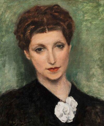 Henri Hayden, 'Portrait de femme'