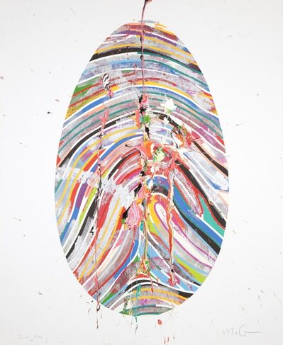 Marc Quinn, 'Labyrinth Monoprint', 2014