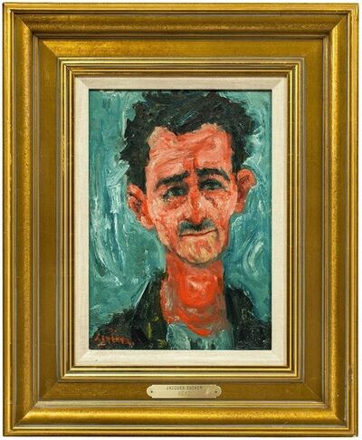 Jacques Zucker, 'Untitled, Portrait of a Man', Mid-20th Century