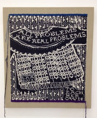 Lisa Anne Auerbach, 'All Problems Are Real Problems', 2013