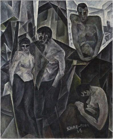 Christian Schad, 'La rue des vices', 1916