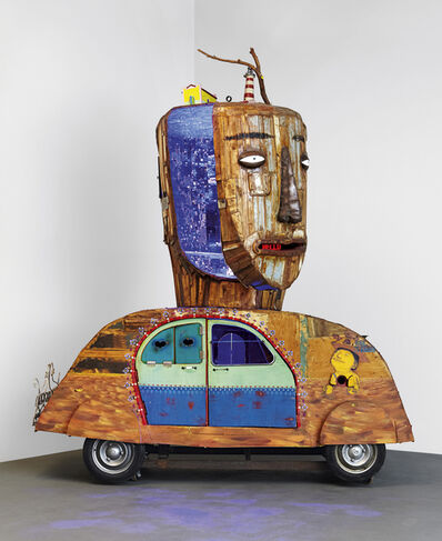 OSGEMEOS, 'Sem-Titulo (Over the Rainbow, that's how it is)', 2010