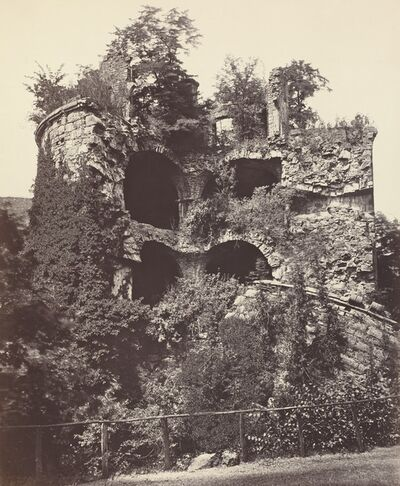 Adolphe Braun, 'The Exploded Tower, Heidelberg Castle', ca. 1865