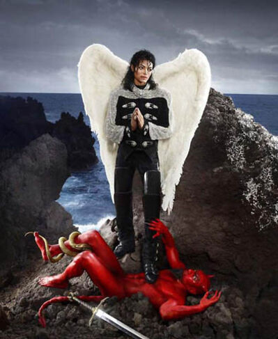 David LaChapelle, 'Archangel Michael: And No Message Could have Been Any Clearer', 2009
