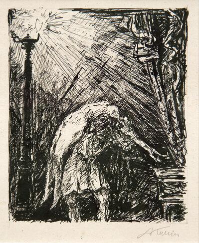 "Alfred Kubin, 'Albertine - Drawing for the illustration of ""Teufelskinder""', ca. 1921"