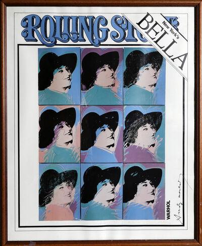 Andy Warhol, 'Bella Abzug (Rolling Stone Cover)', 1977