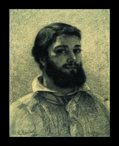 Gustave Courbet, 'Self Portrait', 1852