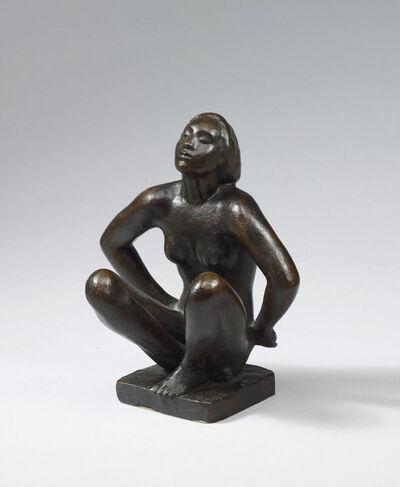 Georg Kolbe, 'Kauernde', 1917