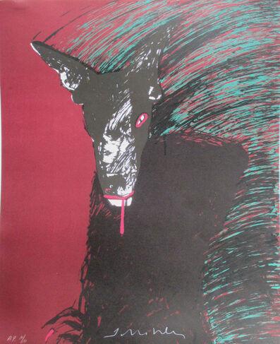 Fritz Scholder, 'Wolf', ca. 1980