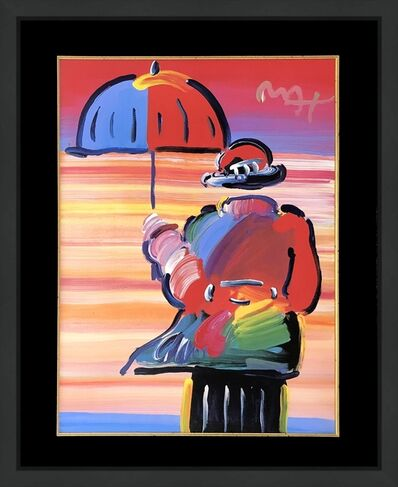 Peter Max, 'UMBRELLA MAN', ca. 2000