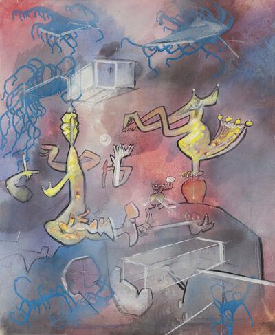 Roberto Matta, 'Trompêtre (vino vino venus)', 1979