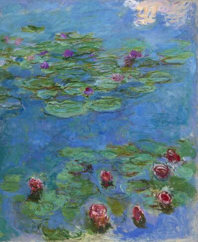 Claude Monet, 'Water Lilies', ca. 1914–1917