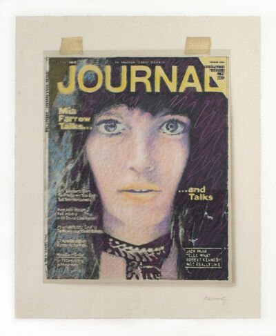 Howard Kanovitz, 'JOURNAL/Mia Farrow', 1972-1973