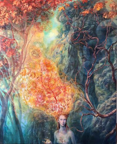 Julie Heffernan, 'Self-Portrait as Hothead', 2019