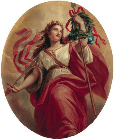 Constantino Brumidi, 'Liberty', 1869