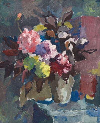 Gregoire Johannes Boonzaier, 'Still Life with Vase of Flowers', 1965