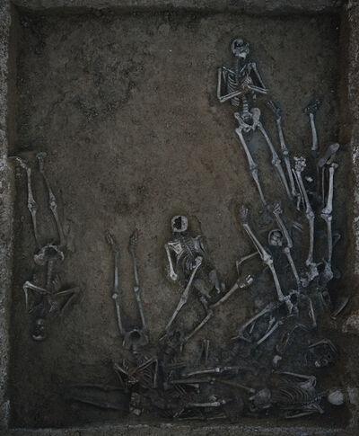 Luc Delahaye, 'Patio civil, cementerio San Rafael, Málaga', 2009