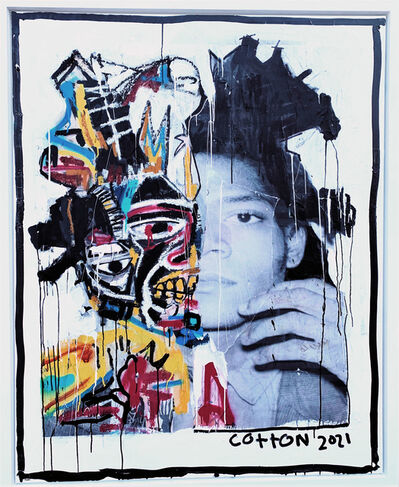 Andrew Cotton, 'Basquiat', 2021