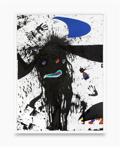 Joan Miró, 'La ruisselante lunaire', 1976