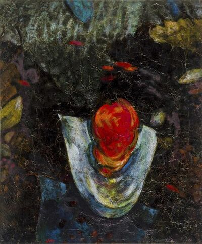 Gianni Dova, 'Fondo Marino', 1983