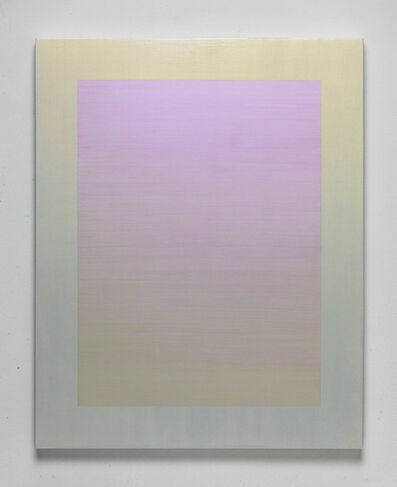 Shingo Francis, 'Interference (yellow-violet)', 2018