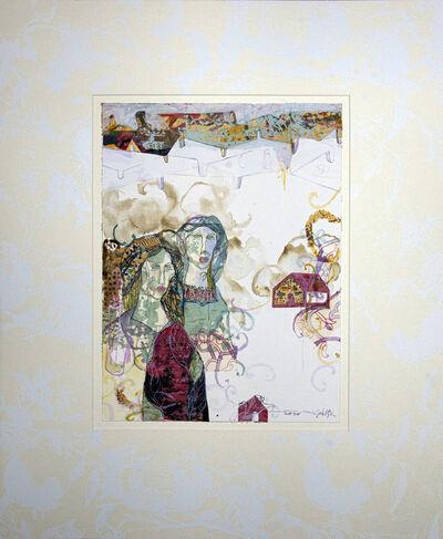 Jehad Al Ameri, 'Brown & White', 2020