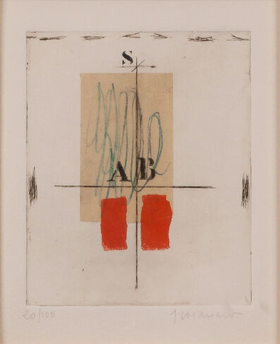 James Coignard, 'Blanc, Rouge (two works)', Date not known