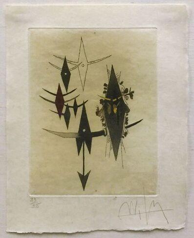 Wifredo Lam, 'CROISEUR NOIR II', 1972