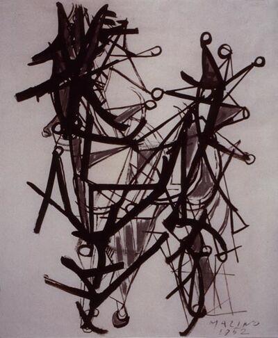 Marino Marini, 'Cavallo e cavaliere (Horse and rider)', 1952