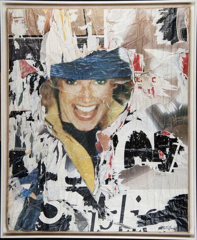 """Mimmo Rotella, 'UNTITLED - """"FS N. 5""""', ca. 1990"""