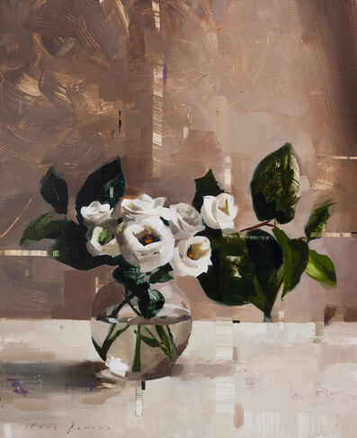 Jon Doran, 'Lisianthus and Shade', 2018