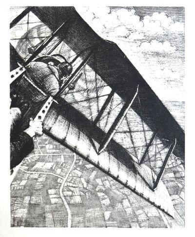 Christopher Richard Wynne Nevinson, 'Banking at 4000 feet', 1917