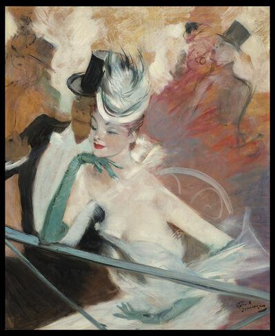 Jean Gabriel Domergue, 'Course aux Lévriers', ca. 1950