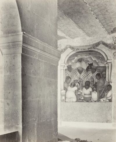 Tina Modotti, 'Court of Fiestas, Ministry of Education, Mexico City', 1928